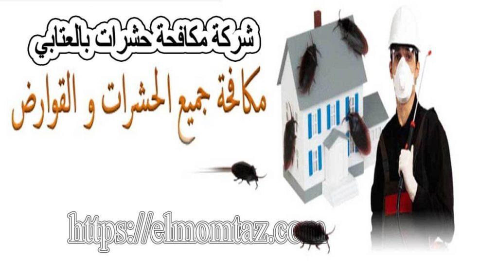 شركة مكافحة حشرات بالعتابي