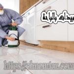 شركة رش مبيدات بالباحة